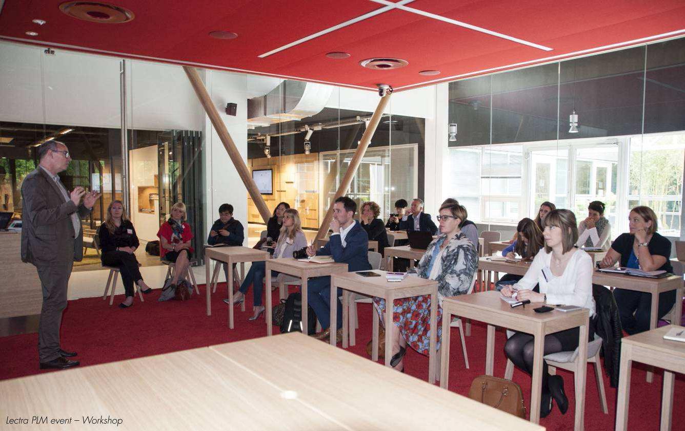 Branchenexperten diskutierten im Headquarter von Lectra über PLM in der Modeindustrie