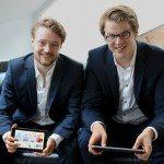 Die SuitePad-Gründer Tilmann Volk und Moritz von Petersdorff-Campen (v.l.n.r.)