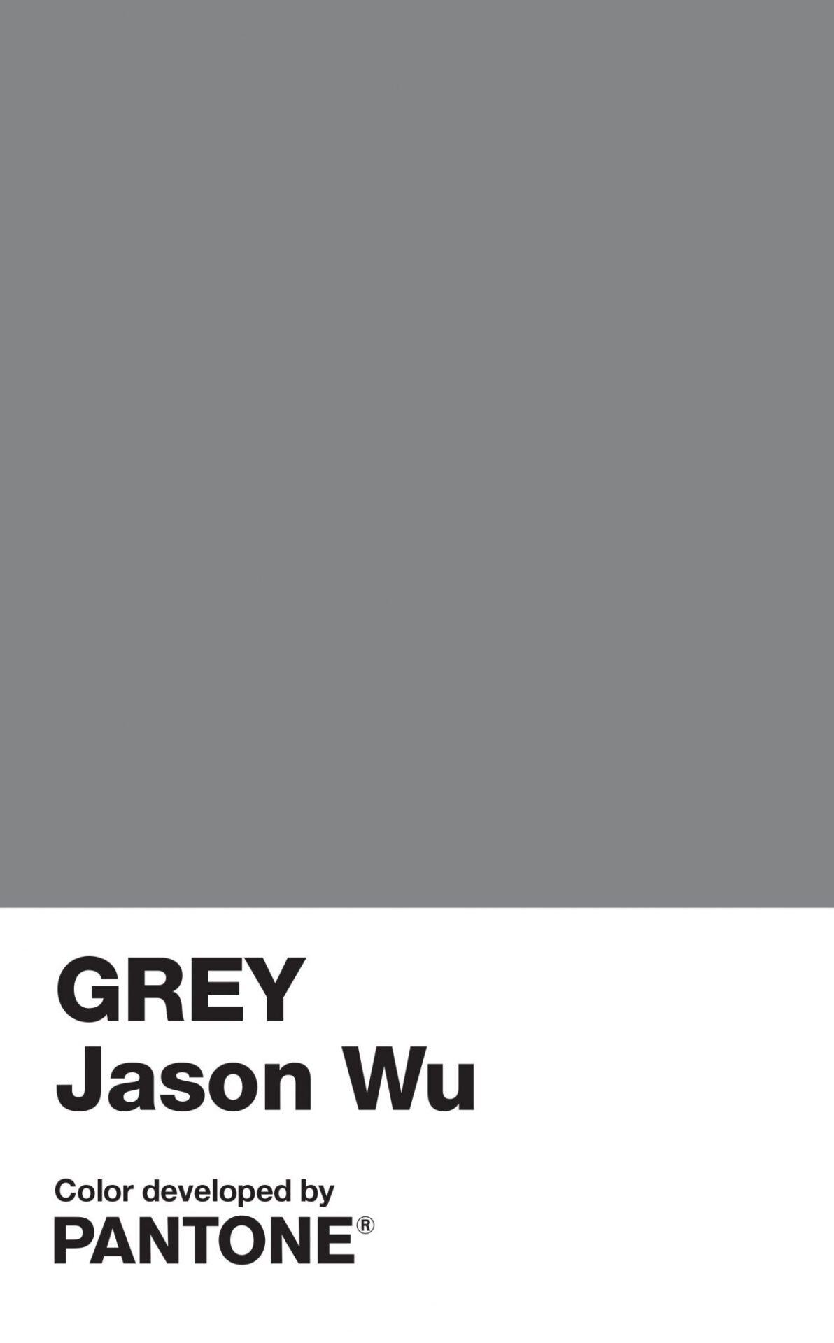 Jason Wu and Pantone Color Institute unveil GREY Jason Wu