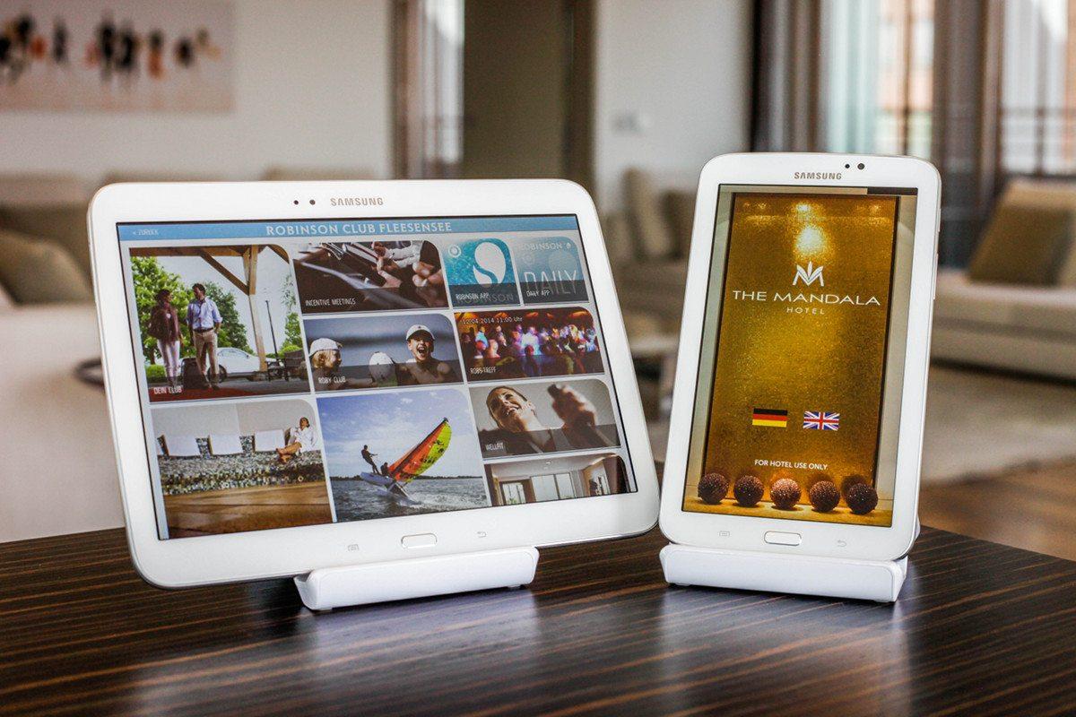 Digitalisierung des Hotels mit SuitePad