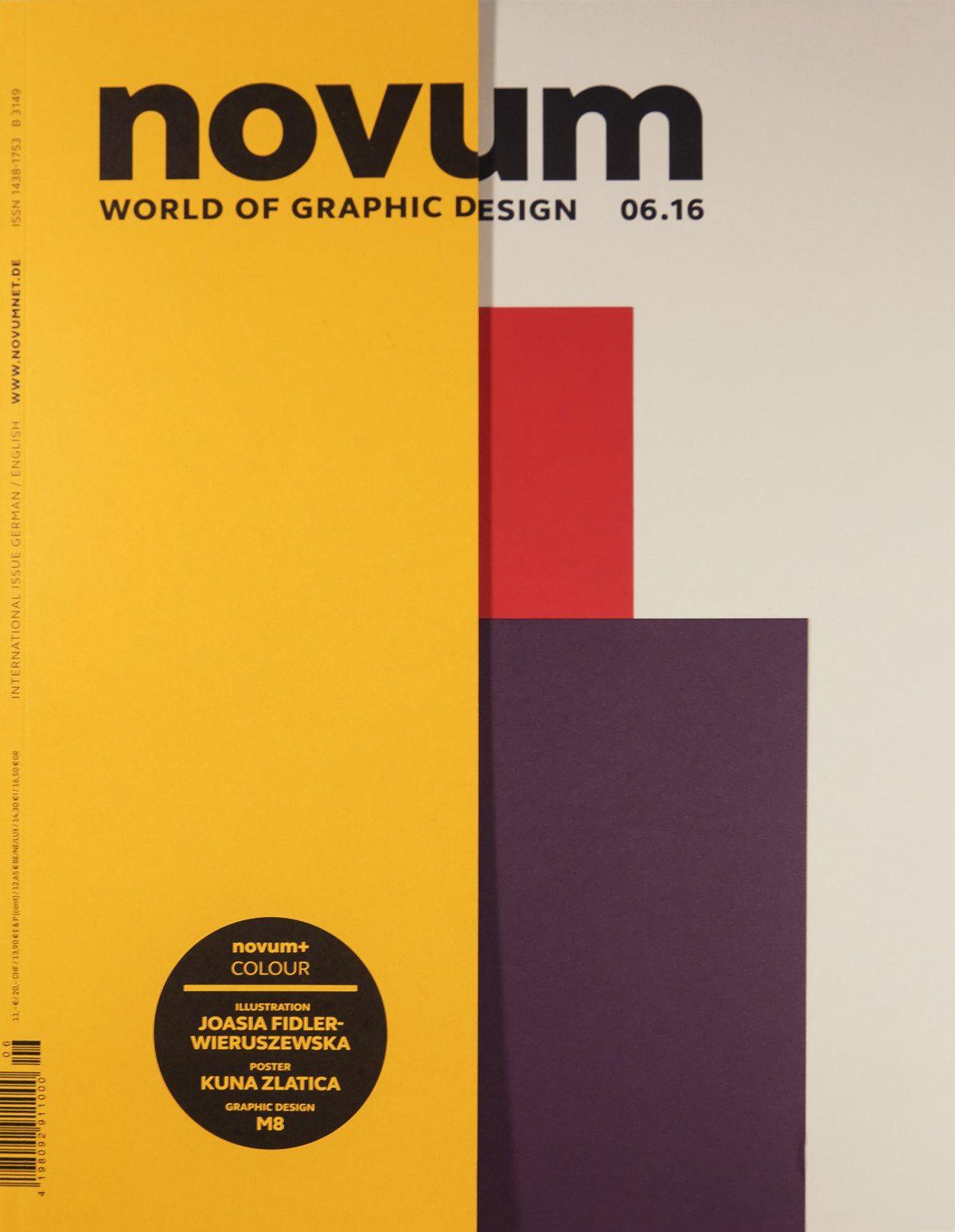 "novum 06.16 Cover ""Farbe"""