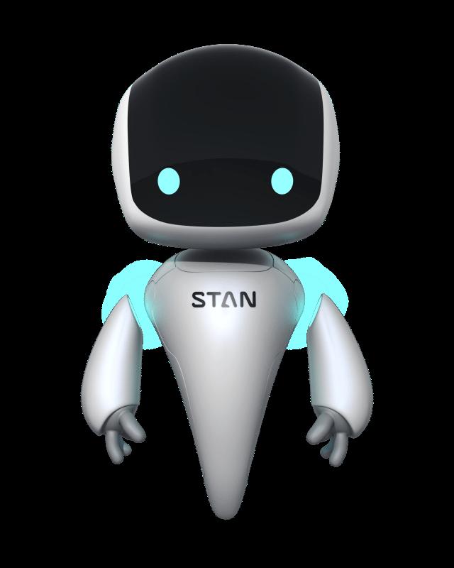 Stan, der virtuelle DevOps-Experte. Stans Job-Beschreibung: Kenne die Anwendung des Kunden.