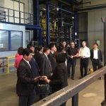 Chinesische Delegation aus Guangyuan besucht Newalu.