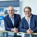 Neuer Vorstand der NCTE: Jürgen Uebbing und Verena Graf.
